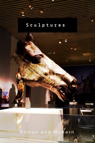 Sculptures Roman and Modern
