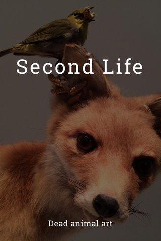 Second Life Dead animal art