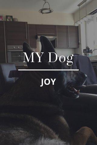 MY Dog JOY