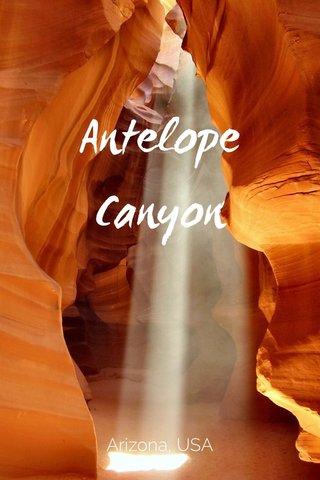 Antelope Canyon Arizona, USA