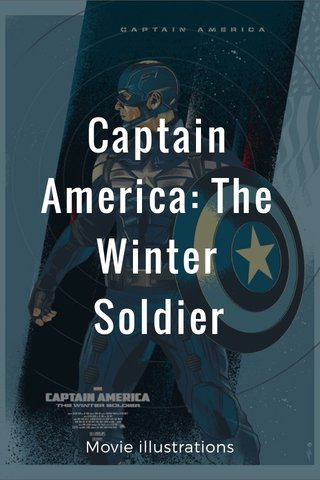 Captain America: The Winter Soldier Movie illustrations