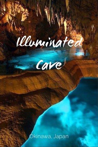 Illuminated Cave Okinawa, Japan