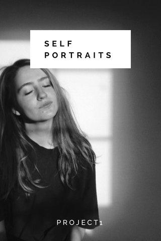 SELF PORTRAITS PROJECT1