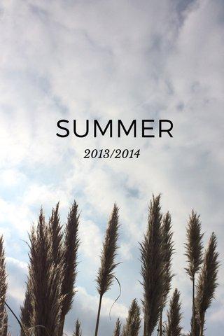 SUMMER 2013/2014
