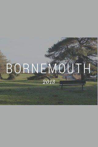 BORNEMOUTH 2013