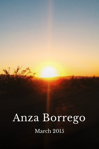 Anza Borrego March 2015