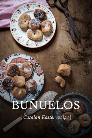 BUÑUELOS | Catalan Easter recipe |