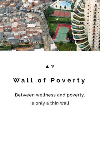 Wall of Poverty