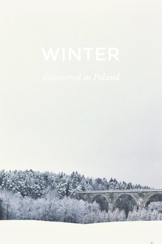 WINTER discovered in Poland