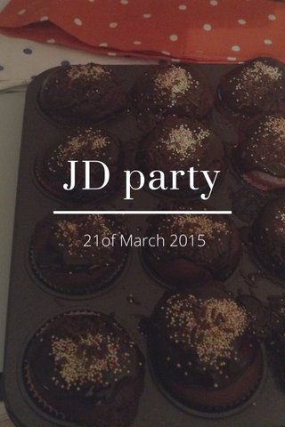 JD party 21of March 2015