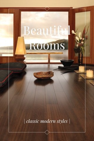 Beautiful Rooms | classic modern styles |