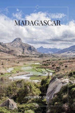 MADAGASCAR september 2014