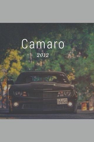 Camaro 2012