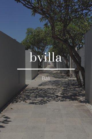 bvilla Bali