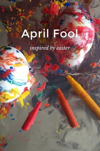April Fool inspired by easter