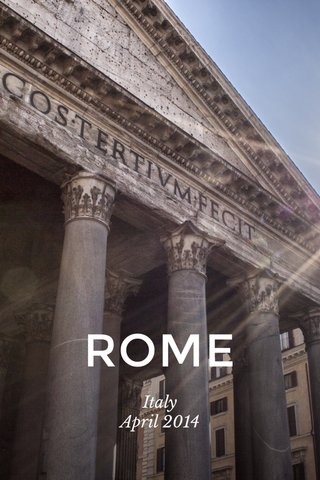 ROME Italy April 2014