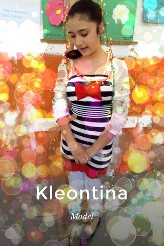 Kleontina Model