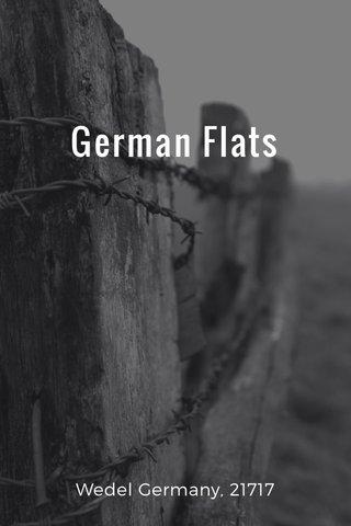 German Flats Wedel Germany, 21717