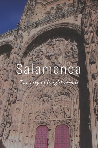 Salamanca The city of bright minds