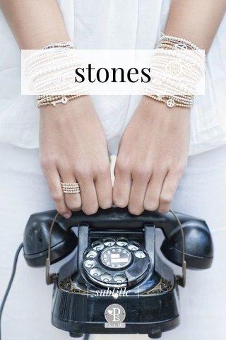 stones   subtitle  