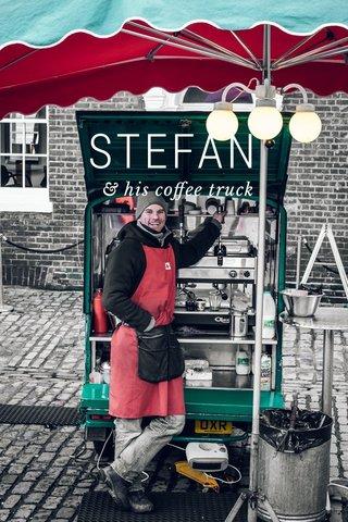 STEFAN & his coffee truck