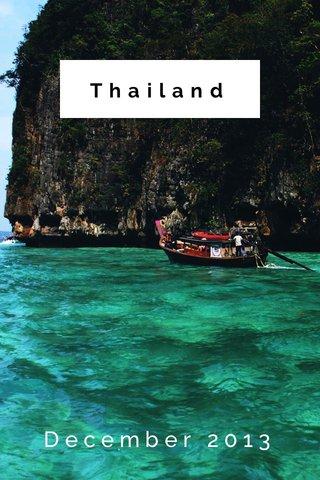 Thailand December 2013