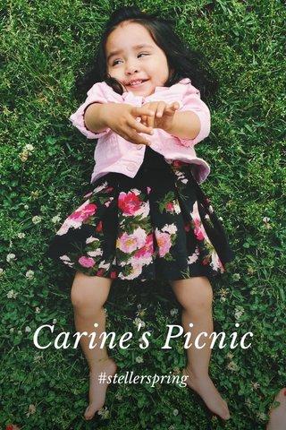 Carine's Picnic #stellerspring