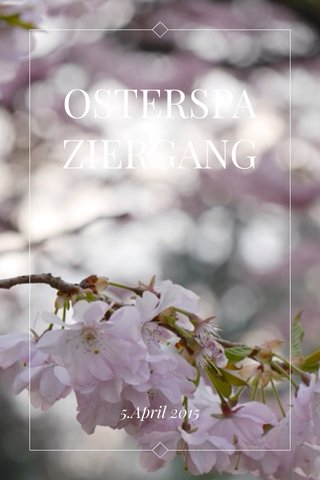 OSTERSPAZIERGANG 5.April 2015