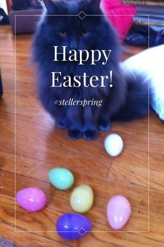Happy Easter! #stellerspring