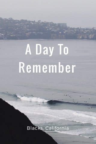 A Day To Remember Blacks, California