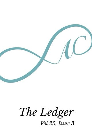 The Ledger Vol 25, Issue 3