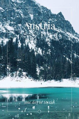 Austria |one day in Styria|