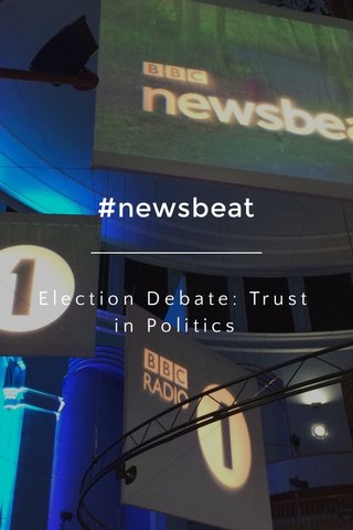 #newsbeat Election Debate: Trust in Politics
