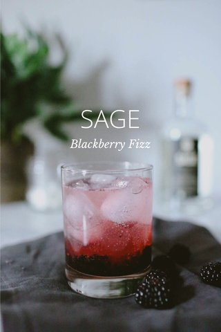 SAGE Blackberry Fizz