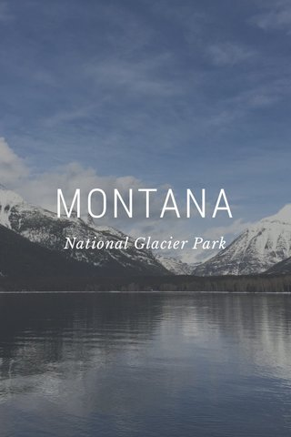 MONTANA National Glacier Park