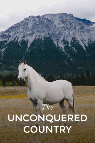 The UNCONQUERED COUNTRY
