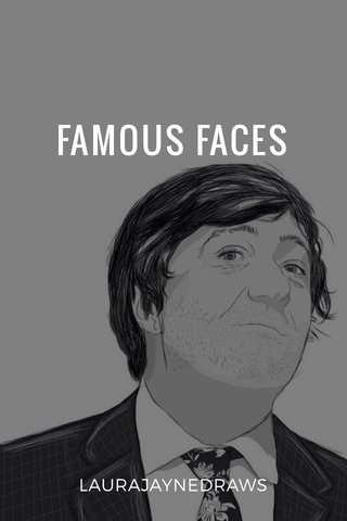 FAMOUS FACES LAURAJAYNEDRAWS