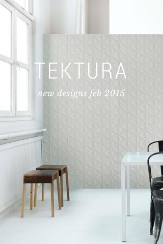 TEKTURA new designs feb 2015