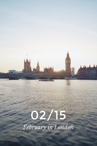 02/15 February in London