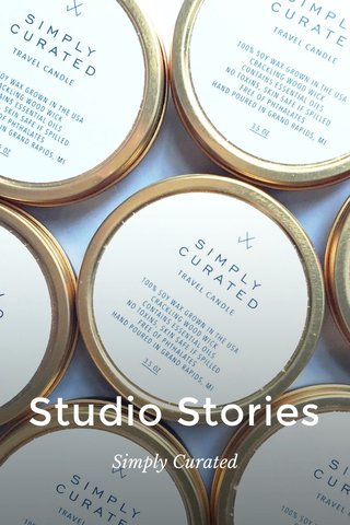 Studio Stories Simply Curated