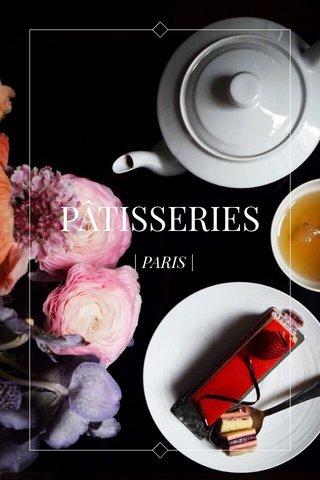 PÂTISSERIES   PARIS  