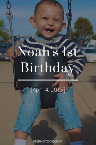 Noah's 1st Birthday |April 4, 2015|