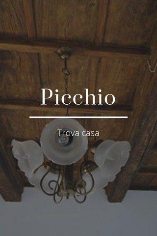 Picchio Trova casa