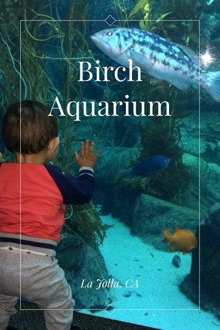 Birch Aquarium La Jolla, CA