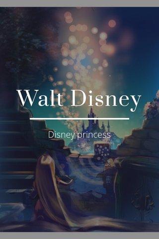 Walt Disney Disney princess