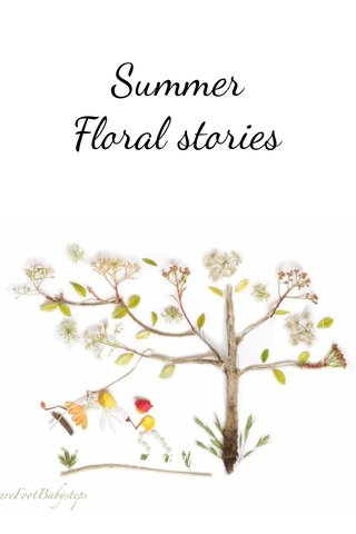 Summer Floral stories   subtitle  