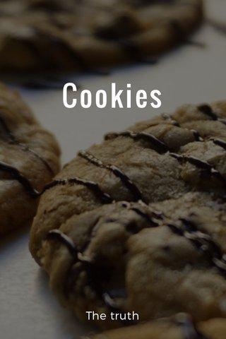 Cookies The truth