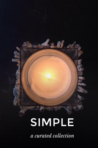 SIMPLE a curated collection