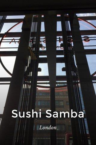 Sushi Samba London