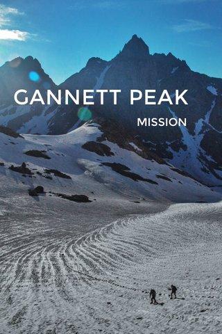 GANNETT PEAK MISSION